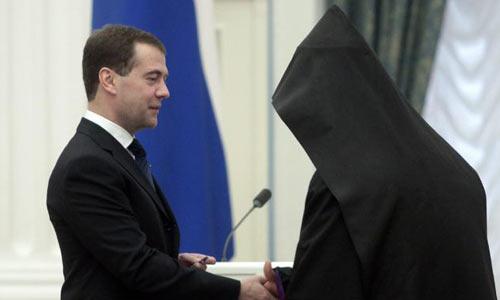 Каталикос армян архиепископ Эзрас в Кремле