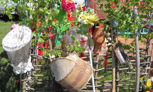 Винтажная выставка в Малоархангельском районе на Троицу
