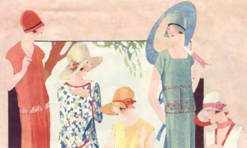 Иллюстрации моды в советских журналах периода НЭП