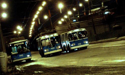 Стритрейсеры на троллейбусах
