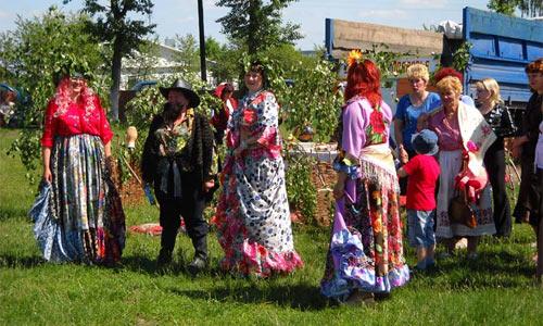 Праздник Троица в Малоархангельске