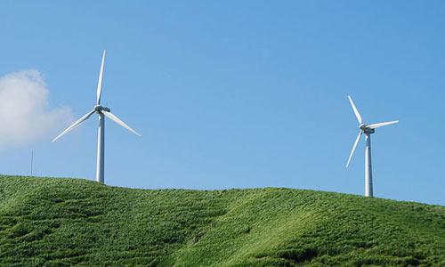 Ветряные генеретаоры в Калифорнии