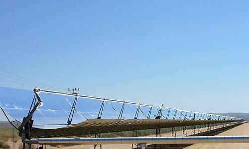 Солнечные генеретаоры в Калифорнии