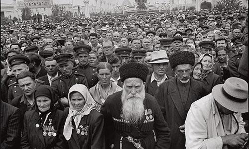 На ВДНХ, 1954 год