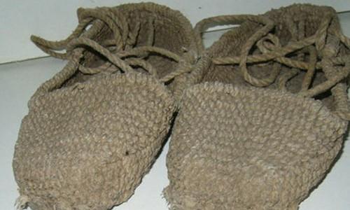 Обувь из конопляного волокна