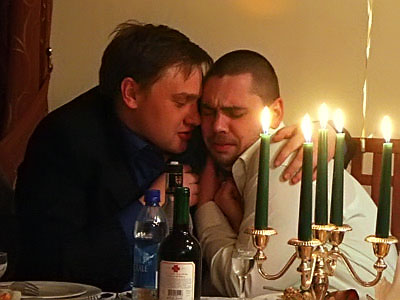 Друзья на весёлой свадьбе в Одинцово.