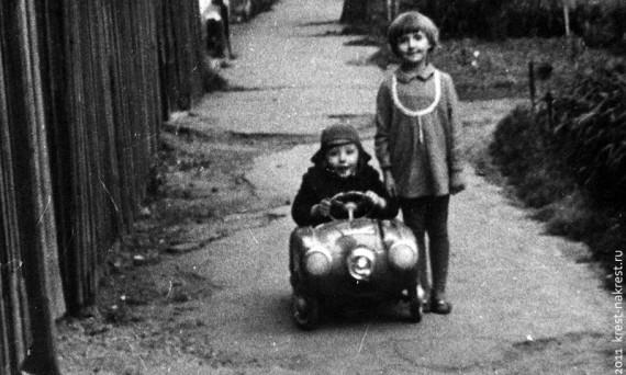 Из коллекции педальных машин бывшего СССР.
