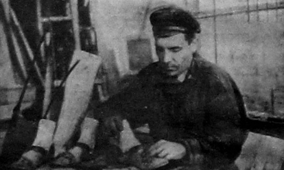 Кустарь-колодочник. 1927 год.