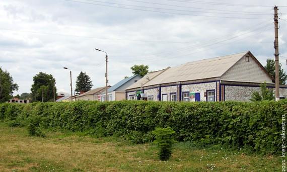 Современная Колпна Орловской области. Фото 2011 года.
