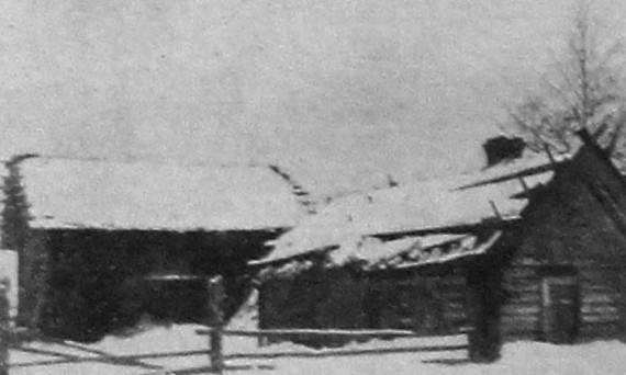 Изба бедняка крестьянина мари. 1926 год.