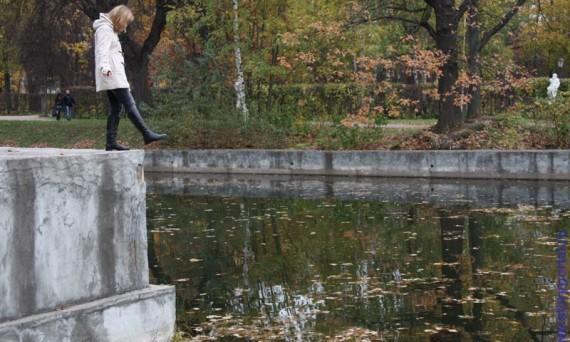Музей усадьба Кусково. Москва. Октябрь 2011 года.