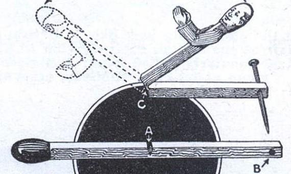 Инерцоидный человечек на колесике.