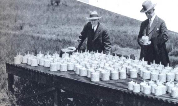 Китайские фейерверки в США. 1937 год.