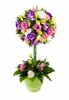 """Цветочная композиция """"Древо любви"""" от компании funflowers.ru."""