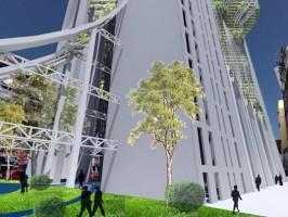 Проект кладбища-небоскреба Башня Мокша в Мумбаи.