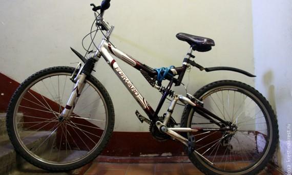 Велосипед на продажу.